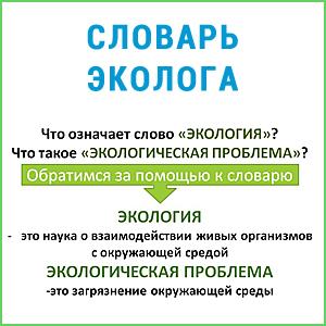 Словарь экологических терминов